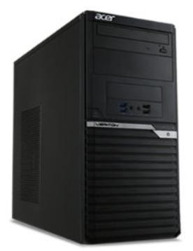 Acer M2640G MT/i3-7100/4GB/256GB SSD/DRW/300W/Win10 Pro/3Y