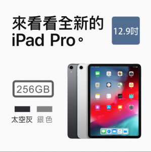 Apple iPad Pro 12.9 Wi-Fi 256GB 兩色