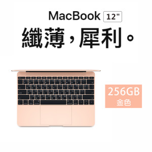 Apple MacBook 12/1.3GHZ/8GB/512GB 金色(MRQP2TA/A)
